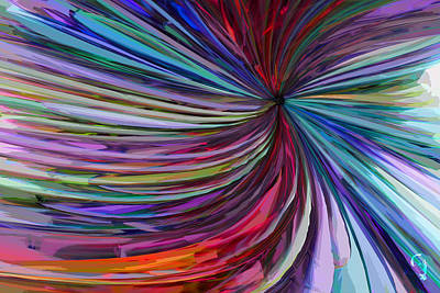 Glass Wave Art Print by Matt Lindley