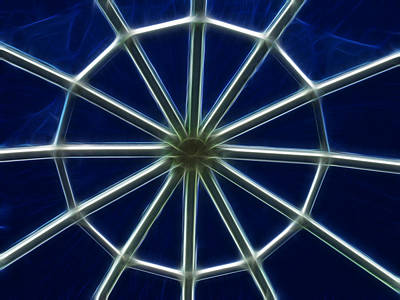 Photograph - Glass Web by Shane Bechler