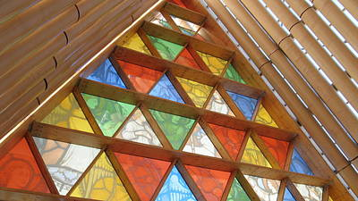 Photograph - Glass Windows by Joyce Woodhouse