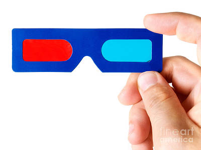 Blockbuster Photograph - Glasses 3d by Sinisa Botas