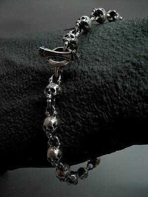 Sterling Silver Bracelet Jewelry - Glassjaw by Joshua  Murray