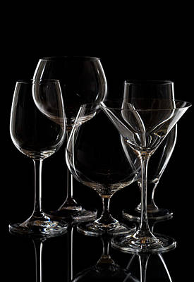 Martini Photos - Glassware by Alexey Stiop