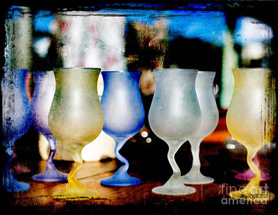 Glassware Art Print by Bobbi Feasel