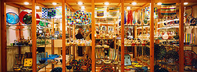 Murano Glass Photograph - Glassworks Display In A Store, Murano by Panoramic Images