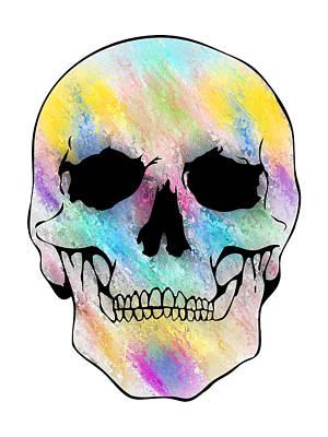 Glassy Skull Art Print by Mauro Celotti