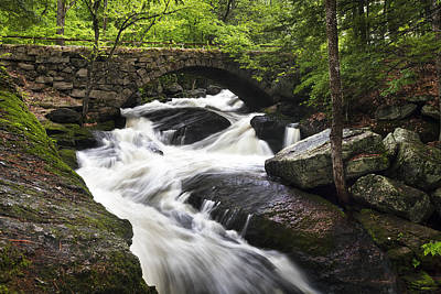 New England Fall Shots Photograph - Gleason Falls by Eric Gendron