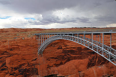 Photograph - Glen Canyon Bridge by Jeanne May
