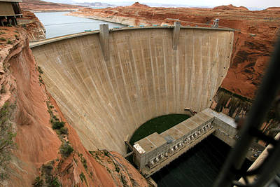 Photograph - Glen Canyon Dam Arizona U S A  by Joseph G Holland
