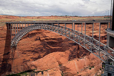 Glen Canyon Dam Bridge Art Print by Jim West