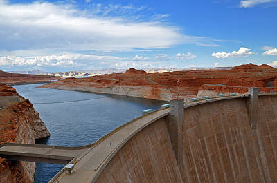 Photograph - Glen Canyon Dam by Jeanne May