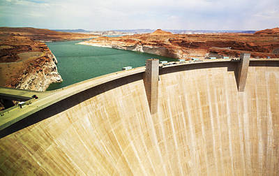 Electricity Photograph - Glen Canyon Dam by Marilyn Hunt
