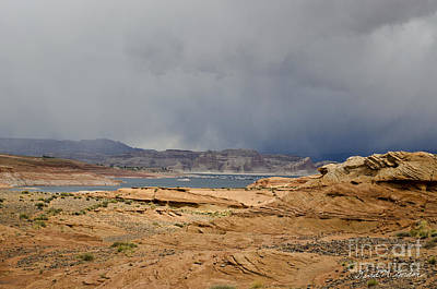 Southwest Photograph - Glen Canyon Page Az by Dave Gordon