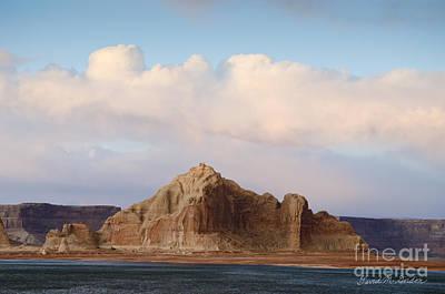Glen Canyon Page Az No. 4 Art Print by Dave Gordon
