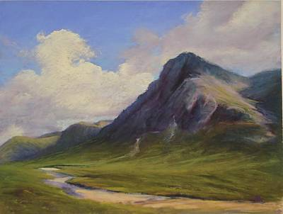 Painting - Glen Coe Scotland by Sharon Lewis