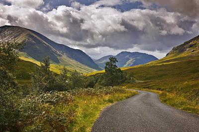 Photograph - Glen Etive Highlands Of Scotland by Jane McIlroy