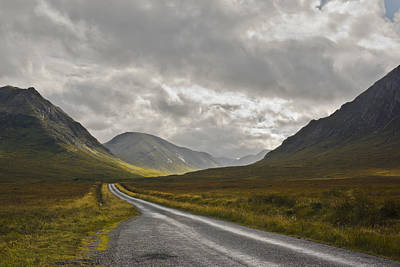 Photograph - Glen Etive In The Scottish Highlands by Jane McIlroy