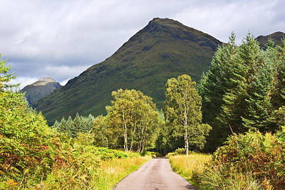 Photograph - Glen Etive Scotland by Jane McIlroy