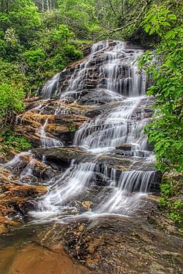 Photograph - Glen Falls by Chris Berrier