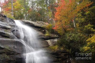 Photograph - Glen Falls In North Carolina by Jill Lang