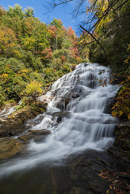 Photograph - Glen Falls North Carolina Vertical by Andres Leon