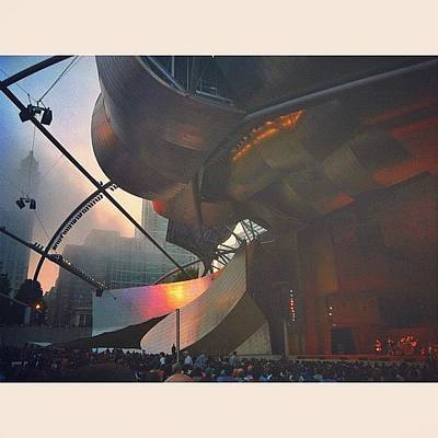 Violin Wall Art - Photograph - Glen Hansard At Pritzker Pavilion  by Jennifer Gaida