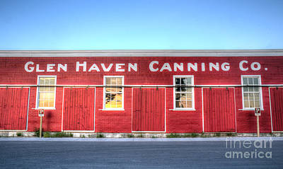 Canning Photograph - Glen Haven Canning Company by Twenty Two North Photography