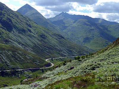 Photograph - Glen Shiel - Scottish Highlands by Phil Banks