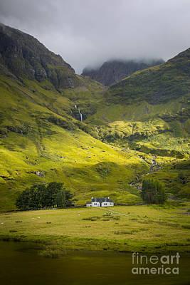 Glencoe Highlands Print by Brian Jannsen