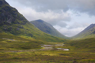 Photograph - Glencoe In The Highlands Of Scotland by Jane McIlroy