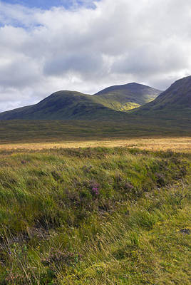 Photograph - Glencoe Moor - Scotland by Jane McIlroy