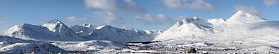 Photograph - Glencoe Panorama by Grant Glendinning