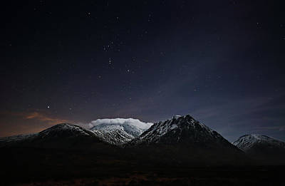 Photograph - Glencoe Star-scape by Grant Glendinning