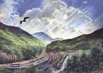 Glencoe Art Print by Steve Crisp