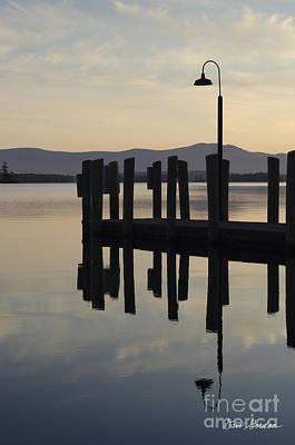 Contemplative Photograph - Glendale Docks No. 1 by David Gordon