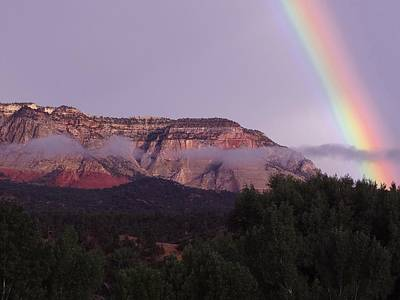Photograph - Glendale Rainbow by Keith Stokes