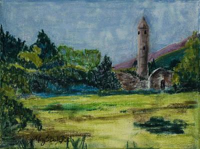 Glendalough Art Print