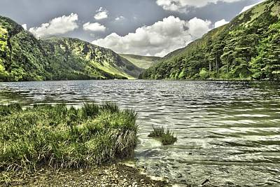 Glendalough Upper Lake Art Print