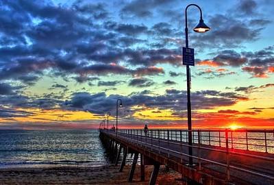 Photograph - Glenelg Jetty by Paul Svensen