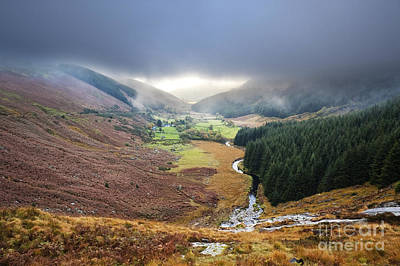 Glenmacnass 1 Art Print by Michael David Murphy
