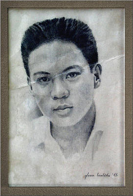 Drawing - Glenn 1965 by Glenn Bautista
