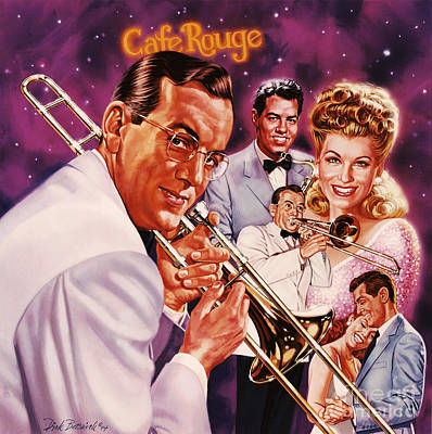 Painting - Glenn Miller by Dick Bobnick