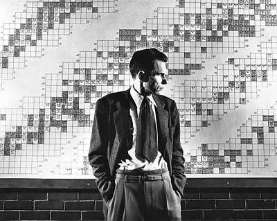 Periodic Table Of Elements Wall Art - Photograph - Glenn Seaborg by Emilio Segre Visual Archives/american Institute Of Physics/science Photo Library