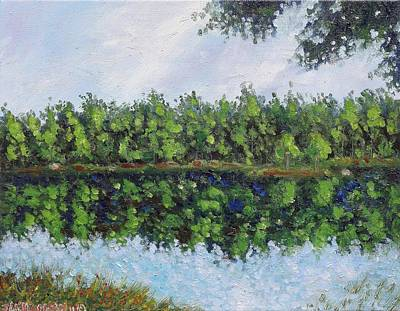 Glenoak Lake Art Print by Jason Williamson
