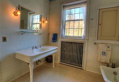 Claude Monet - Glensheen Bathroom Duluth by Amanda Stadther