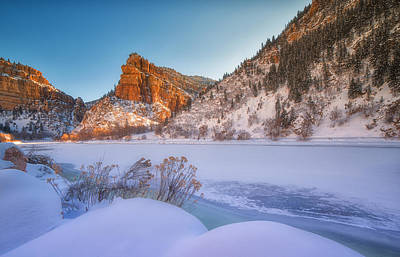 Photograph - Glenwood Springs Morning by Darren  White
