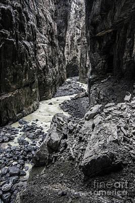Grindelwald Photograph - Gletscherschluct Grindelwald - Weisse Lutschine 3 by Gary Whitton
