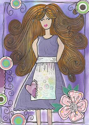 Glimmer Girl Purplicious Original