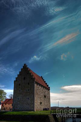 Rusty Trucks - glimmingehus castle HDR 01 by Antony McAulay