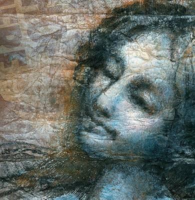 Glimpse Of An Angel Art Print