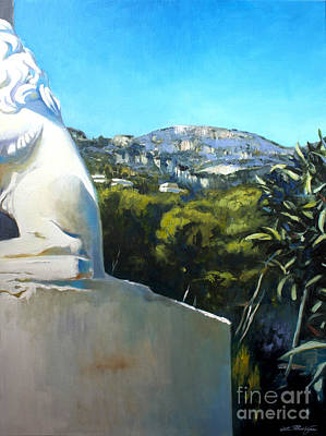 Painting - Glimpse Of Eze by Lin Petershagen